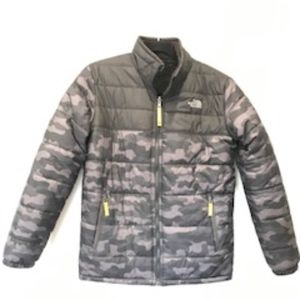 North Face Reservable Jacket Boys XL -Like New